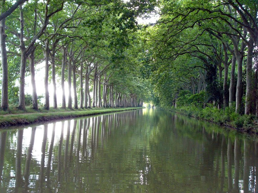 Getting there lastours for Architecte canal du midi